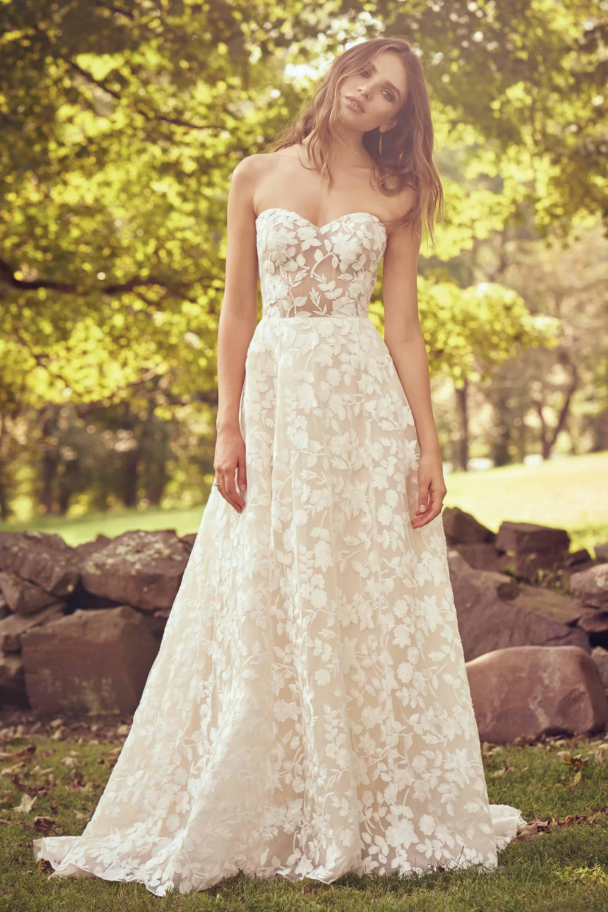 Lillian West 66067 Wedding Dress