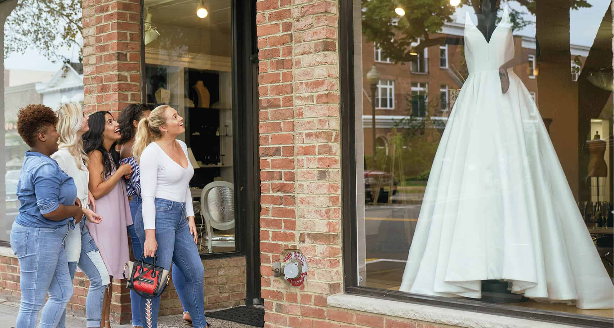 Wedding dress hunt