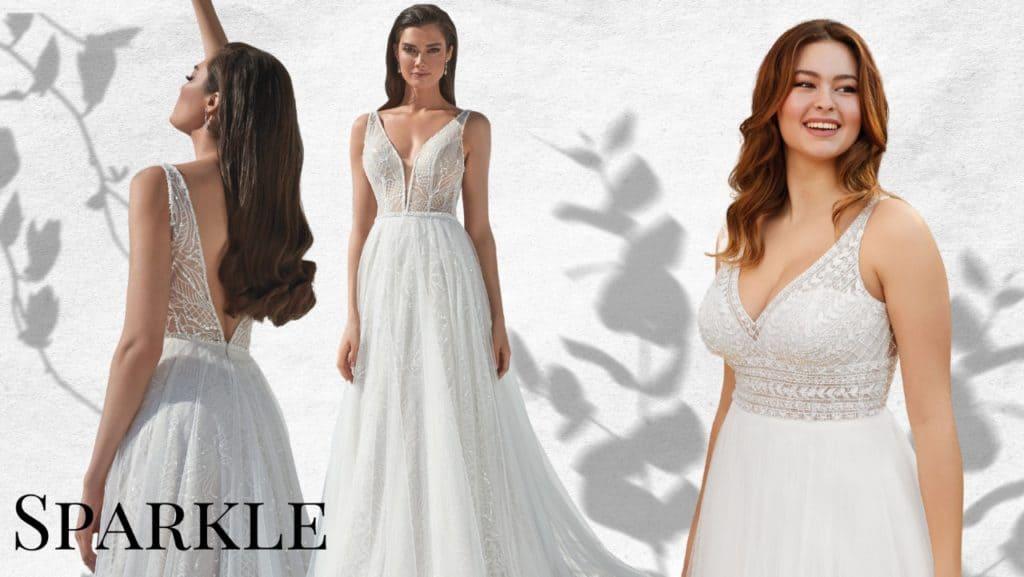 Wedding Dress Trends -Sparkle