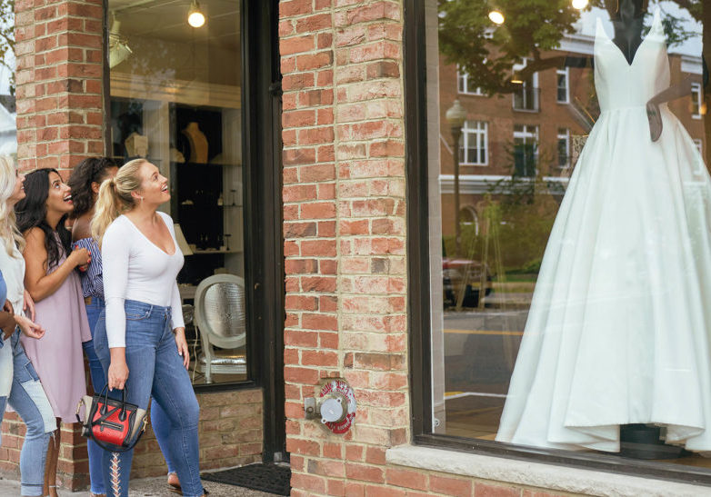Wedding dress hunt